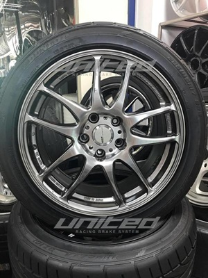 WORK EMOTION KIWAMI 17x8.0+35 鋁圈 | 聯結汽車有限公司 T&UNITED Racing.